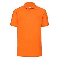 """Поло """"65/35 Polo"""", оранжевый_M, 65% п/э, 35% х/б, 180 г/м2, фото 1"""