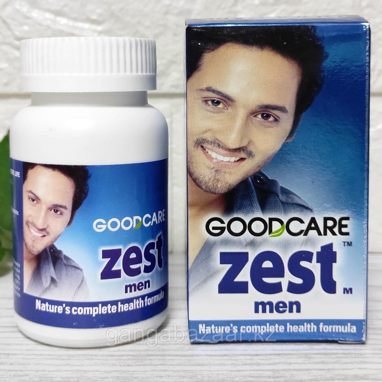 Зест Мэн - натуральные витамины для здоровья мужчин (ZEST Man GOODCARE), 60 кап
