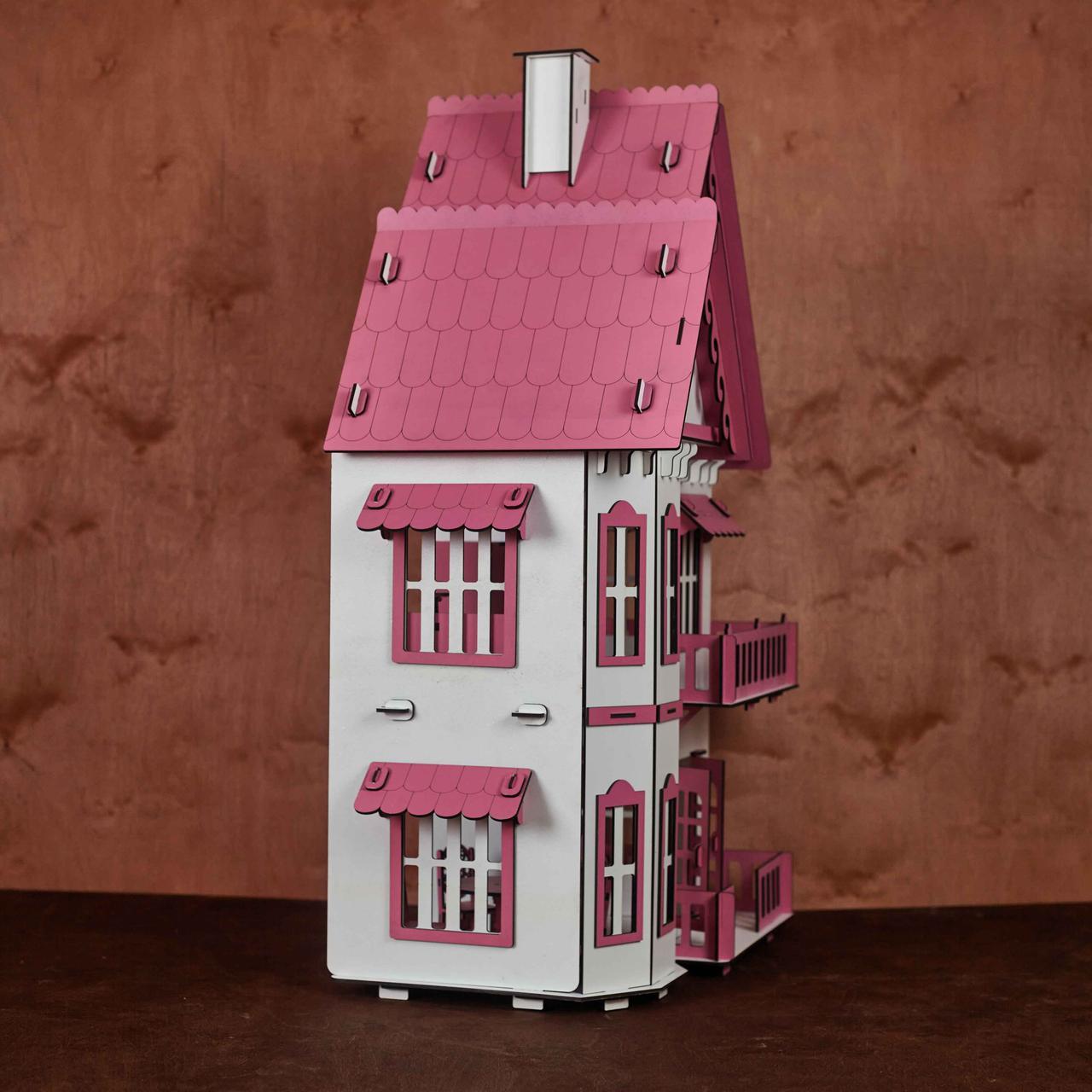 Кукольный домик с мебелью - фото 5