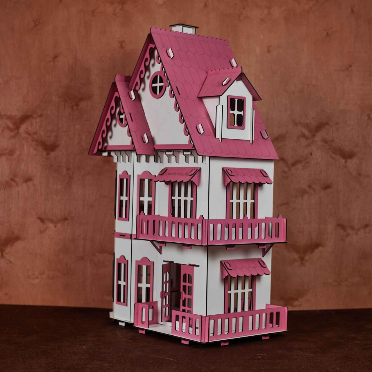 Кукольный домик с мебелью - фото 6