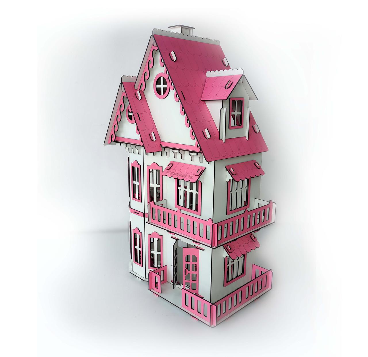 Кукольный домик с мебелью - фото 1