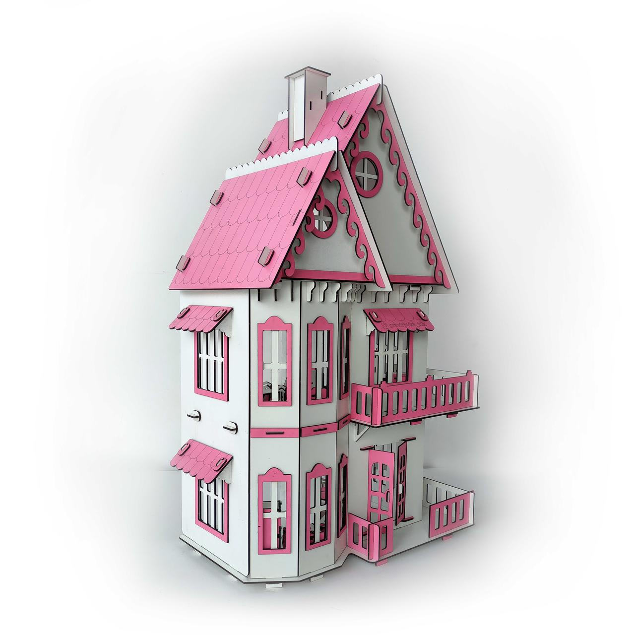 Кукольный домик без мебели - фото 1