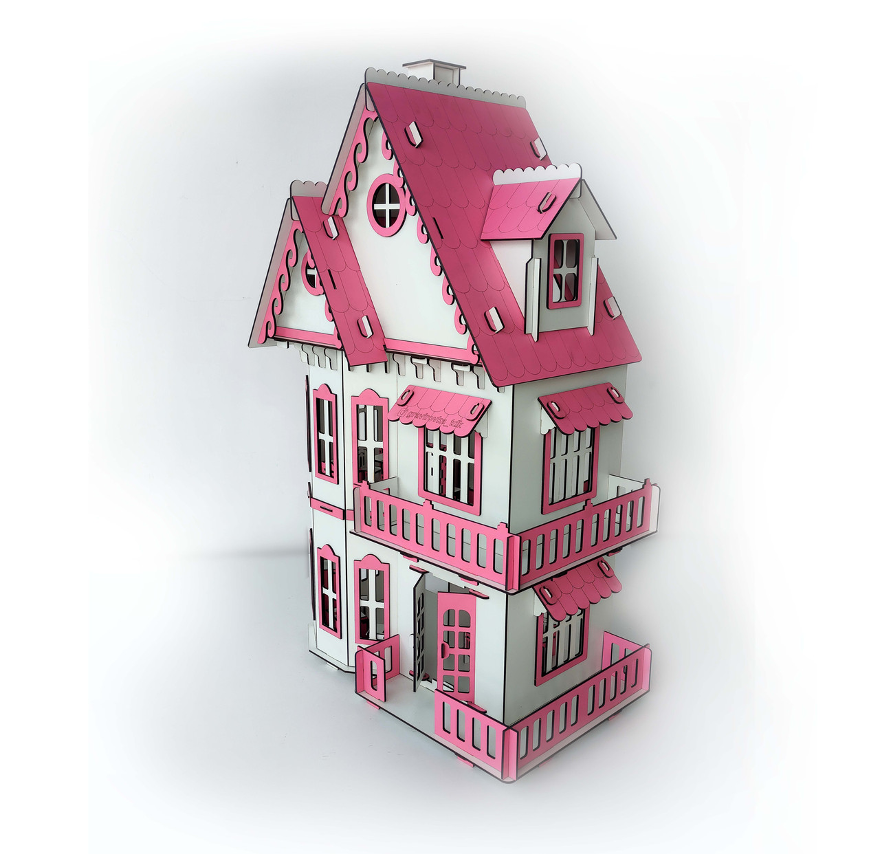 Кукольный домик без мебели - фото 9