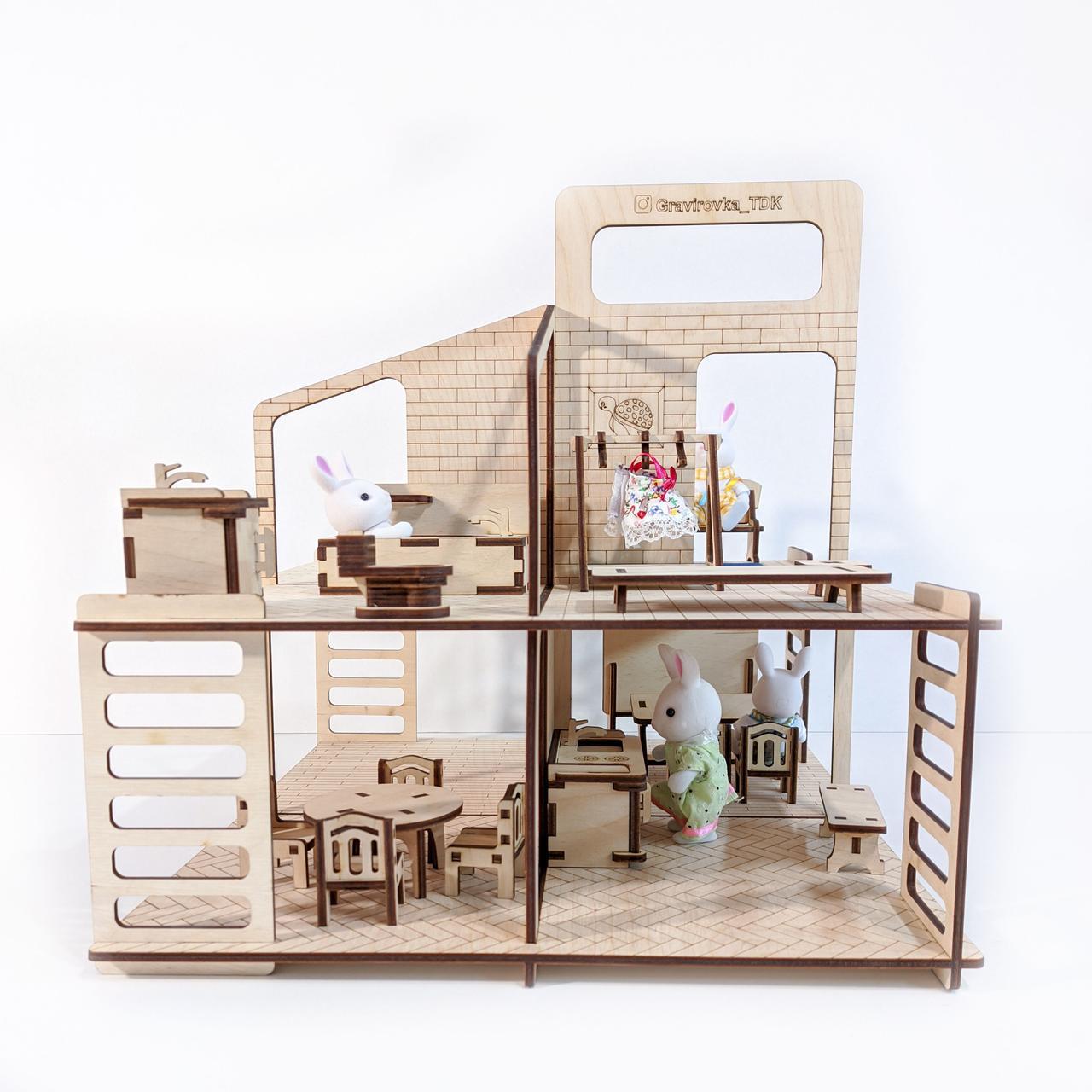 """Кукольный домик """"Лофт"""" - фото 2"""