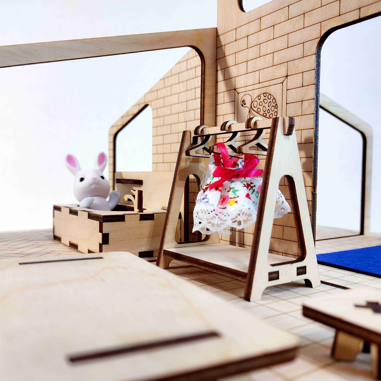"""Кукольный домик """"Лофт"""" - фото 6"""
