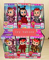 Кукла пупс Край Бэби (Cry Baby, аналог), с бутылочкой и соской (в ассортименте)