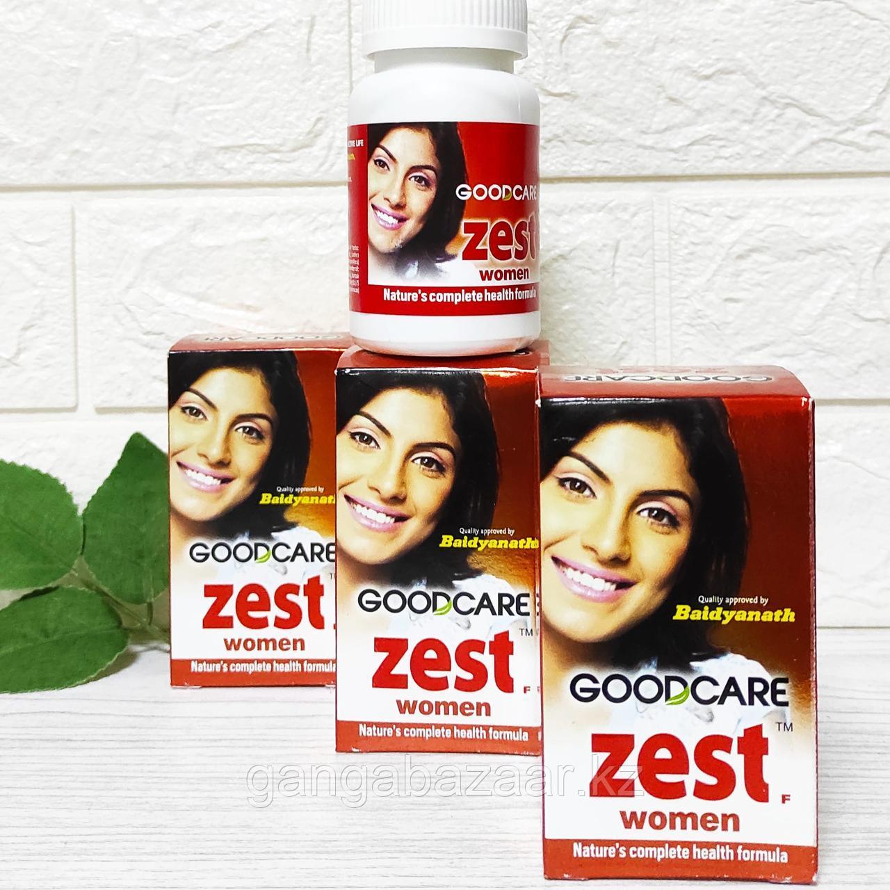 ЗЕСТ (ZEST WOMEN GoodCare Baidyanath) для женского здоровья и молодости, 60 кап