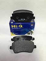 Kолодки тормозные передние HI-Q (Renault duster, Lada largus, Nissan note, Micra iii)