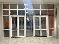 Алюминиевые витражи входные двери Нур-Султан, фото 1