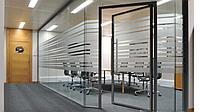 Цельностеклянные офисные перегородки без делений, фото 1