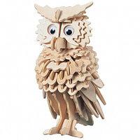 Сборная деревянная модель Сова (Чудо-дерево)