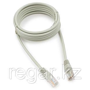 Патч-корд медный UTP Cablexpert PP10-3M кат.5e, 3м, литой, многожильный (серый)