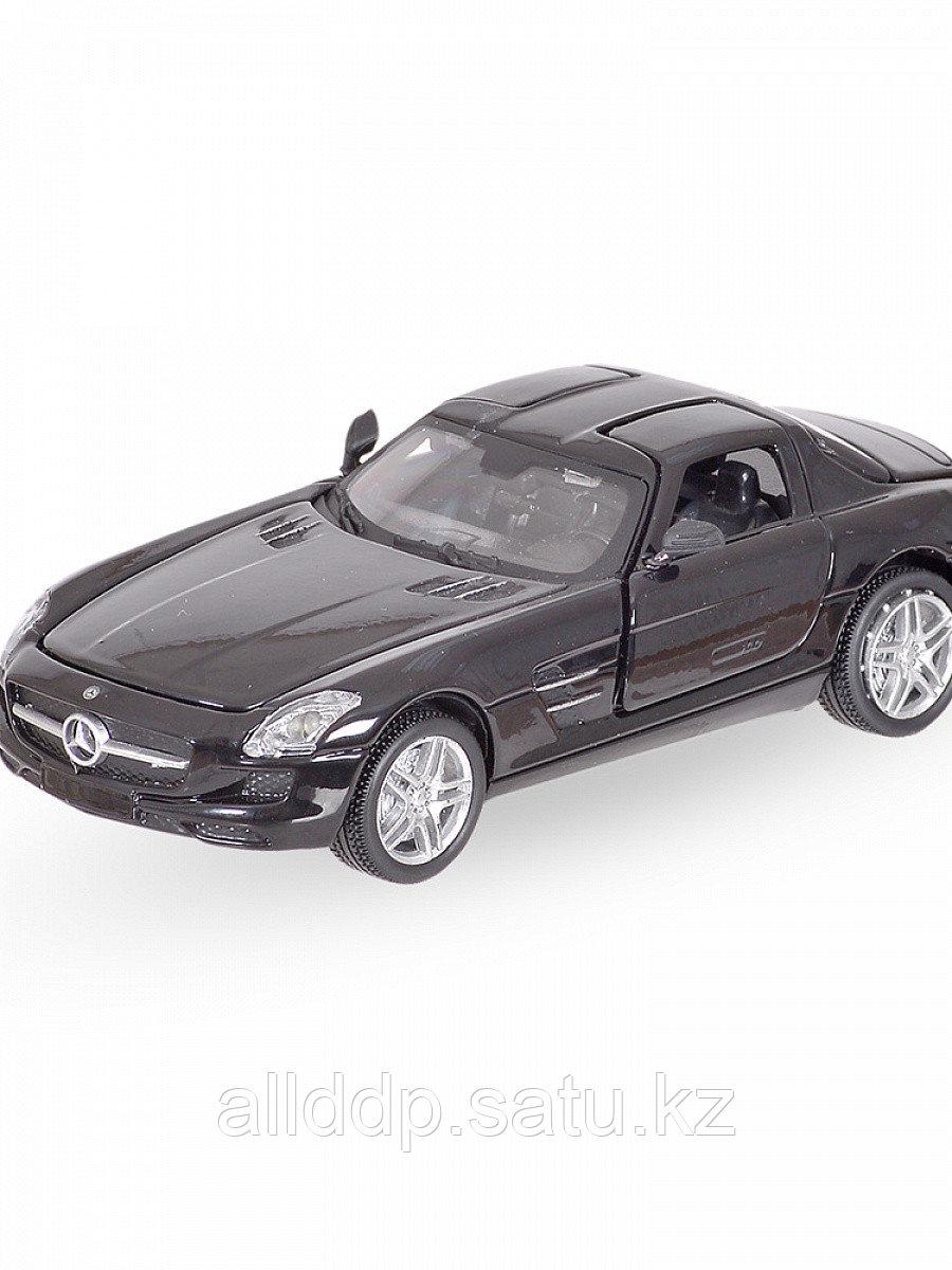 Модель машины Mercedes-Benz SLS 1:32 свет,звук, инерция 25016С
