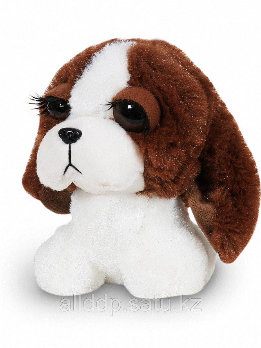 Мягкая игрушка Собака Мася бело-коричневая 11 см 1570-22-2 ТМ Коробейники