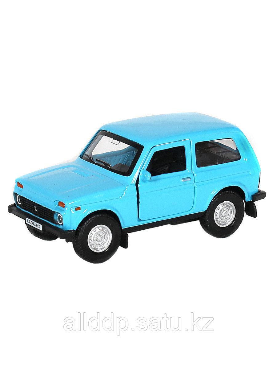 Модель машины 1:34/39 НИВА LADA 4x4 в ассорт. 7531W/37035 инерция