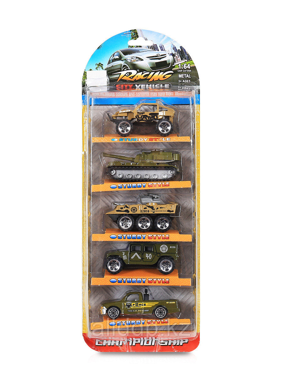 Игровой набор из 5-ти машин спецслужб 1:64 в ассортименте JP512