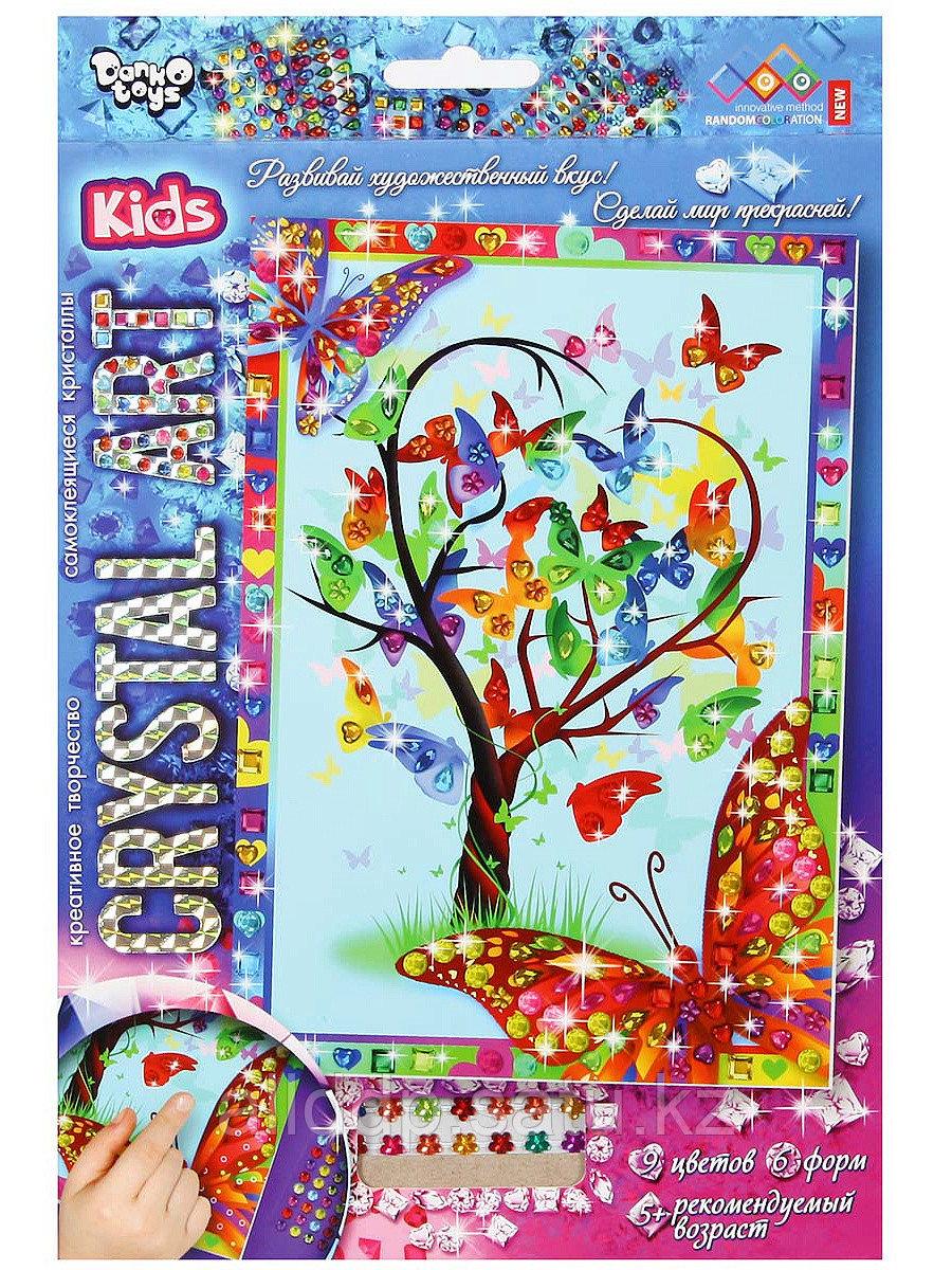 Набор для творчества Самоклеящиеся кристаллы Cart-01-01 Crystal Art Дерево желаний