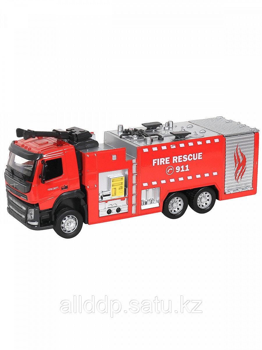 Мод. Маш. 1:50 Volvo Пожарная охрана (24см) 68380/68381 свет, звук, инерция