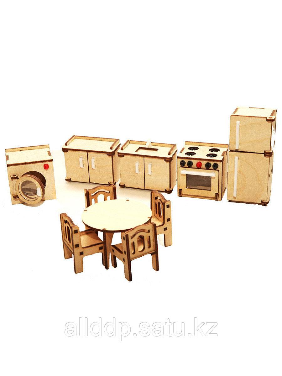 Мебель для куклы Кухня М-003 Большой Слон