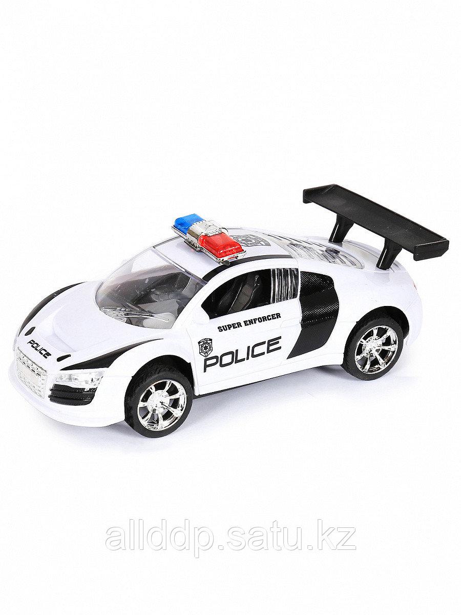 Машина инерционная H555-25 белый