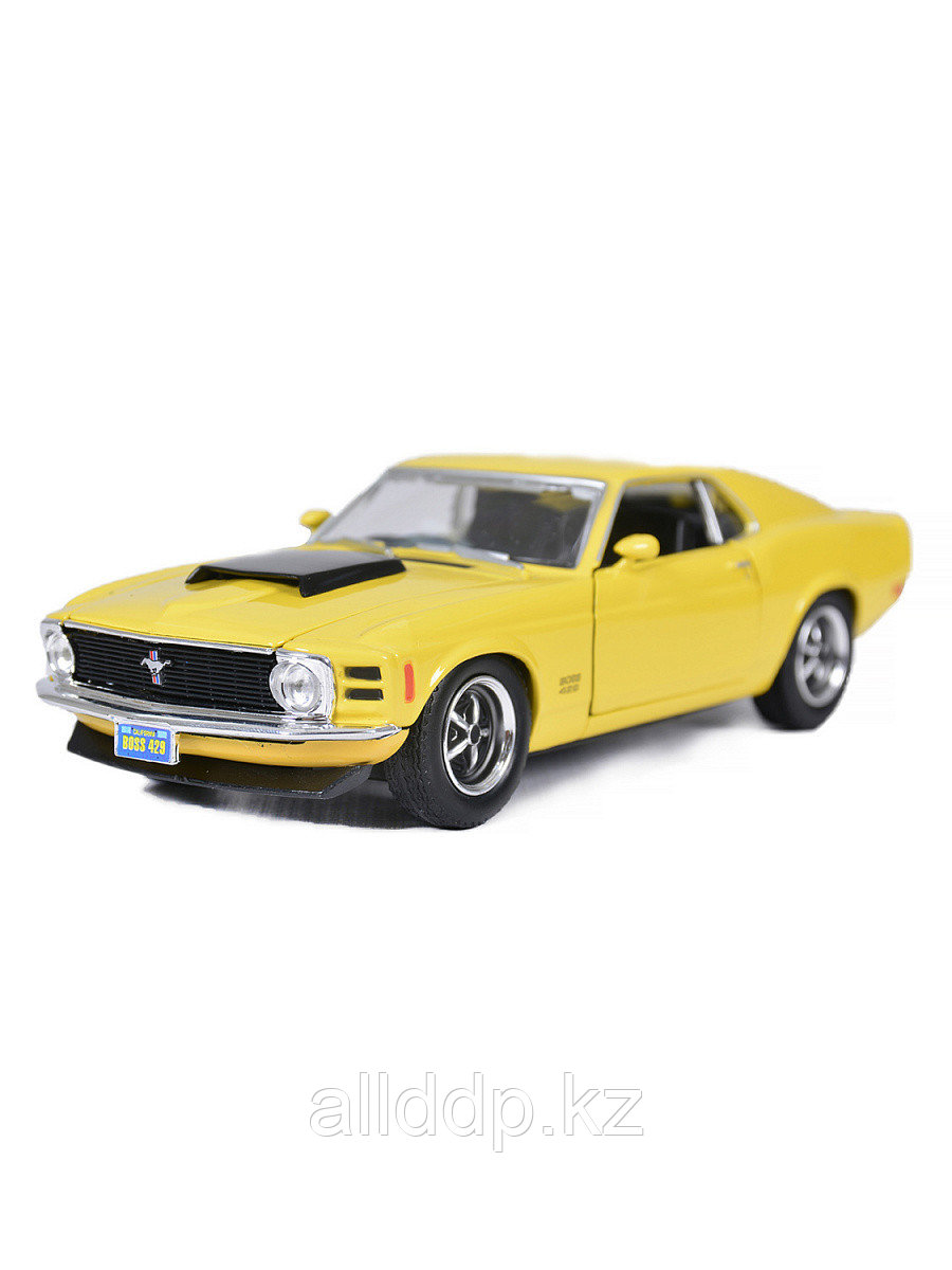 Модель машины Ford Mustang Boss 429 1:24 73303AC Motormax