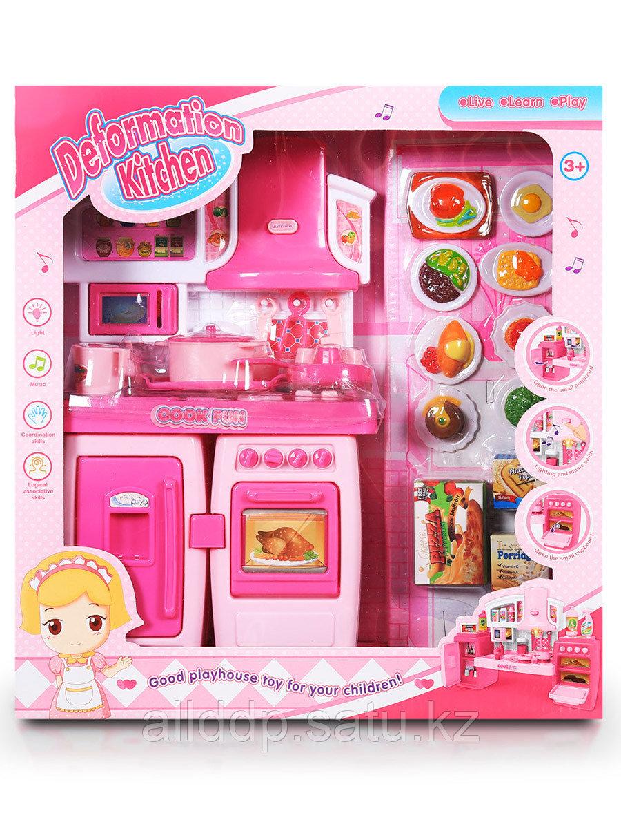 Мебель для куклы Кухня SY-2078-8A