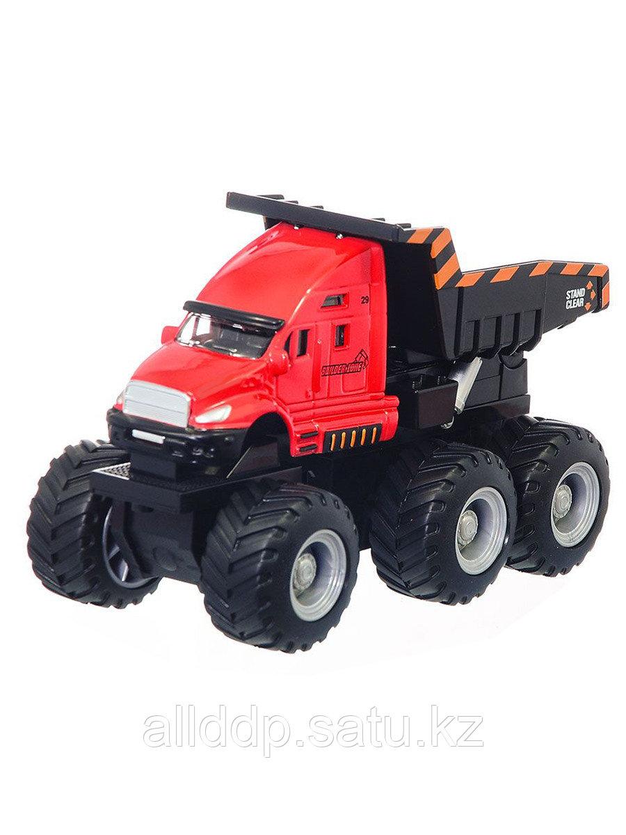 """Мод. спецтехники MAISTO 8"""" (20см) FM Builder Zone Quarry Monsters 21194 фрикционный механизм"""