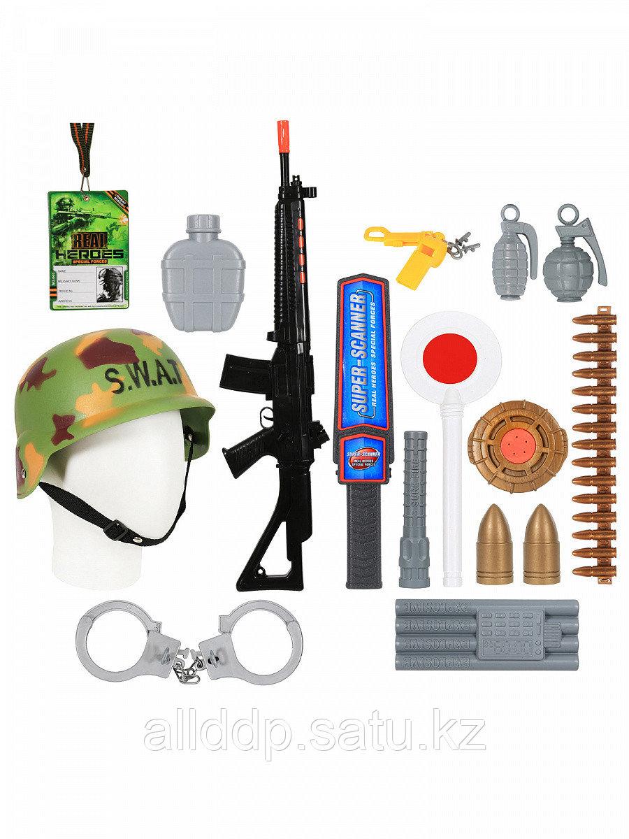 Набор оружия Военного 66518 с каской