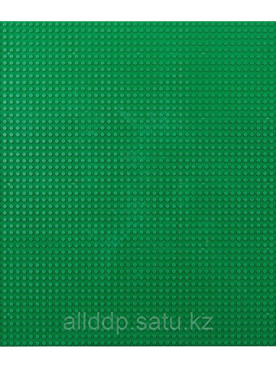Игровое поле для конструирования 40*40 см (диаметр 0,5см) DB-D5050-1 зеленое