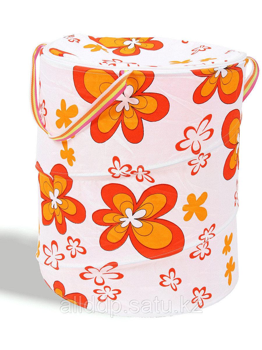 Контейнер для игрушек Цветы 920/058К-5