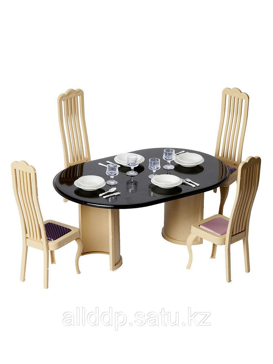 Мебель для куклы Набор для столовой Коллекция С-1300 Огонек