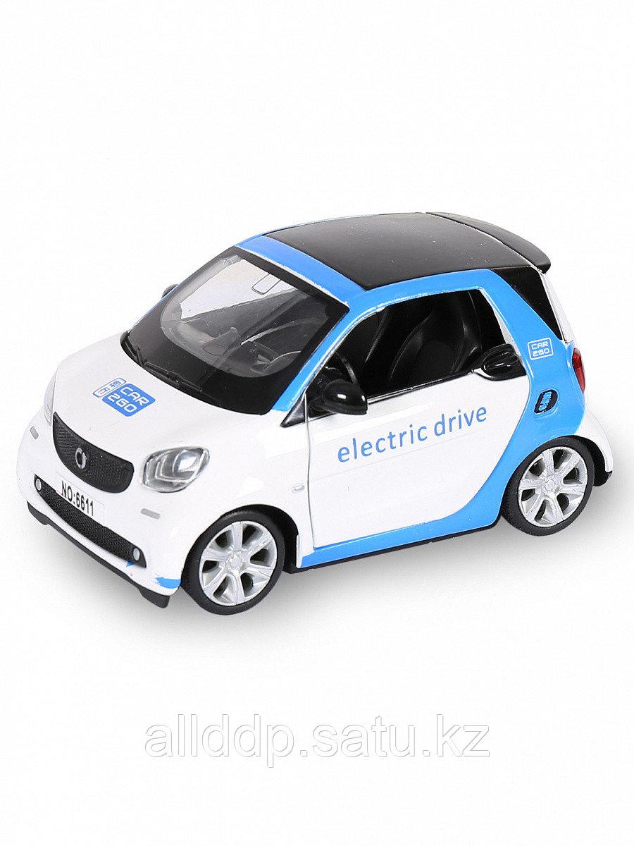 Модель машины Smart Fortwo 1:32 (11,5см) свет,звук, инерция 6611