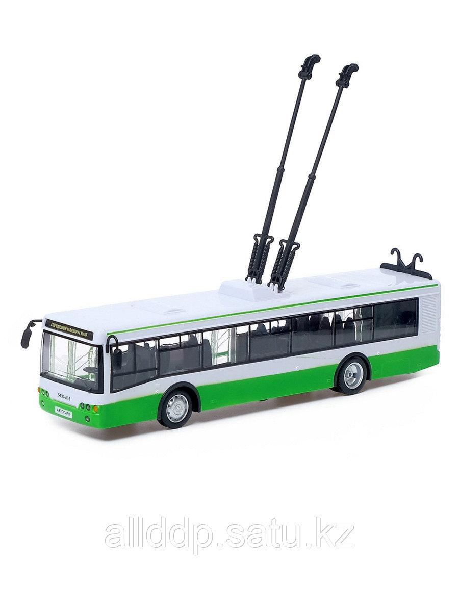 Игрушка на батарейках Троллейбус ST 9690-A