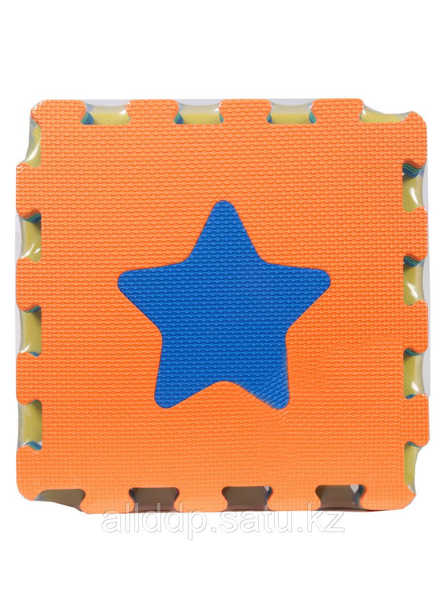 Коврик-пазл геометрические фигурки 1043B3 Sun Ta Toys Sdn Bhd