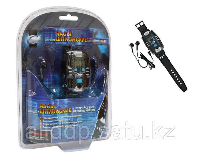 Цифровые шпионские часы с устройством прослушивания 9809