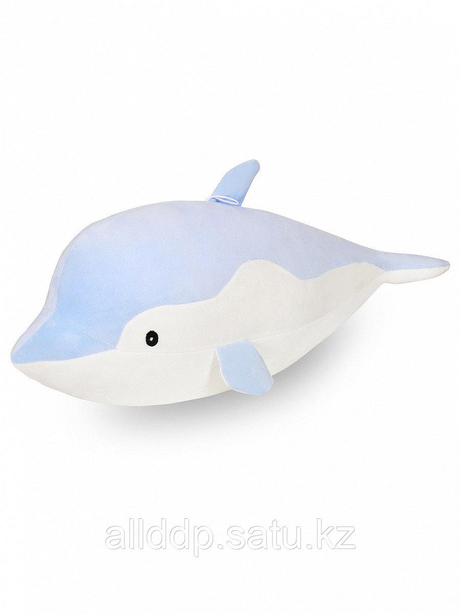 Мягкая игрушка Дельфин Триша бело-голубой 70 см 0722-8-2 ТМ Коробейники