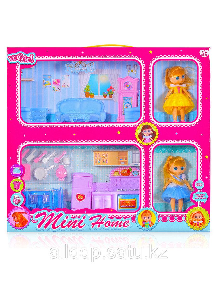 Мебель для куклы Гостиная VC004C