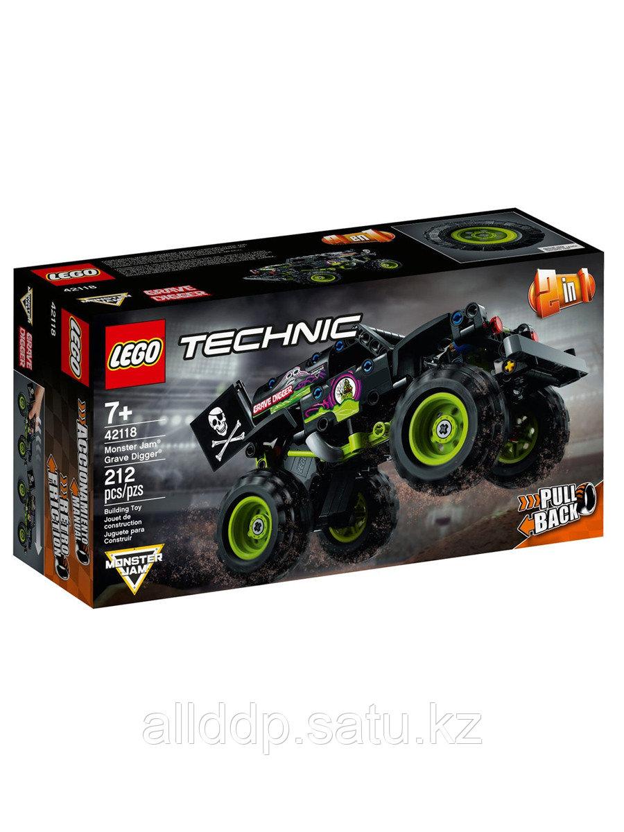Конструктор Monster Jam® Grave Digger® 212 дет. 42118 LEGO Technic