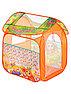 """Детская игровая палатка """"Играем вместе """" Чебурашка с азбукой 83*80*105 см, фото 3"""