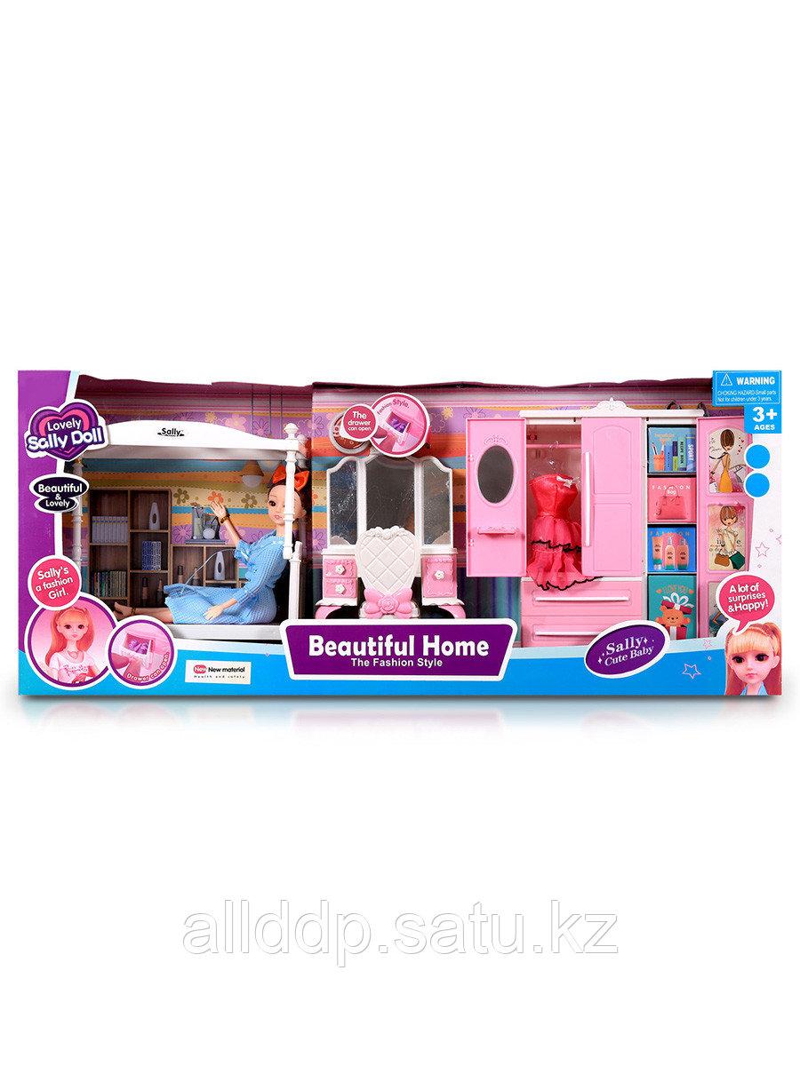 Мебель для куклы Спальня 68065 с куклой