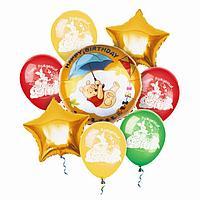 """Воздушные шары, набор """"Медвежонок Винни"""", Disney"""