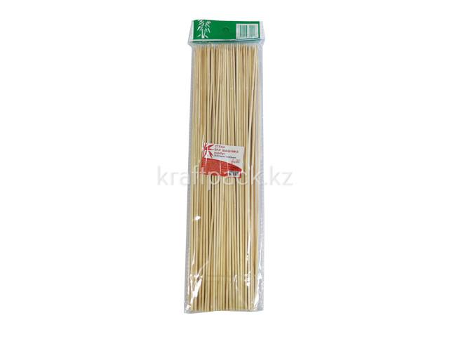 Стек д/шашлыка бамбук,300мм/100шт, FIESTA