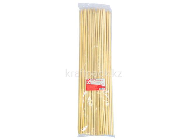 Стек д/шашлыка бамбук,400мм/100шт, FIESTA