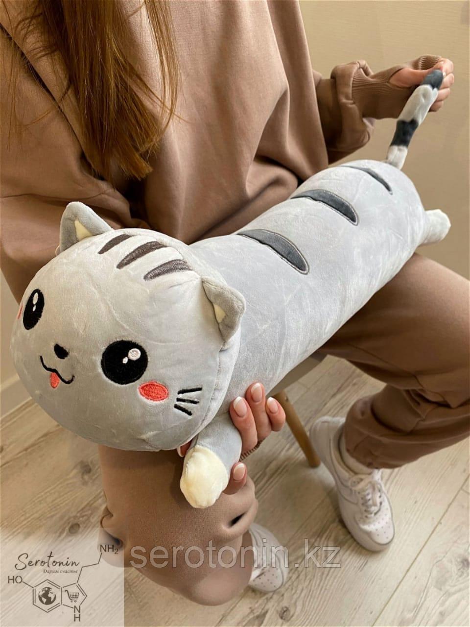 Мягкая игрушка Кот Колбаса 60 см