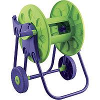 """Комплект поливочный: шланг поливочный армированный 4-слойный, 3/4"""" 25 м + катушка для шланга на колесах,"""