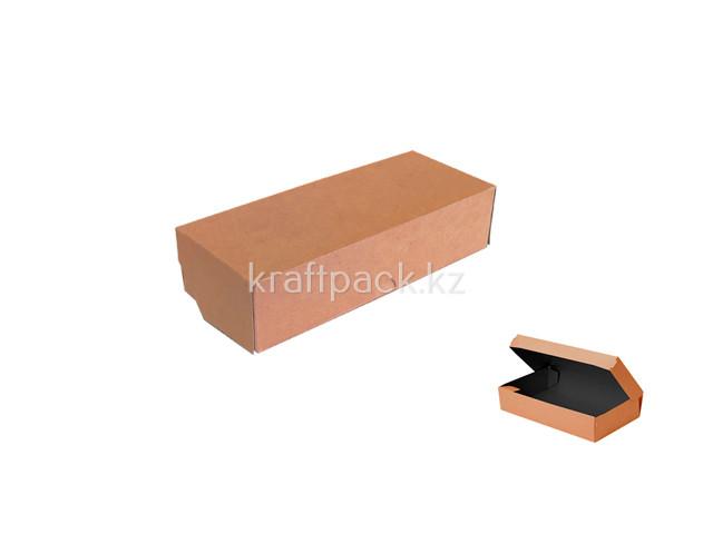 (Eco Tabox PRO 500 BE) Коробка с окном 170*70*40 Black Edition DoEco (25/350)