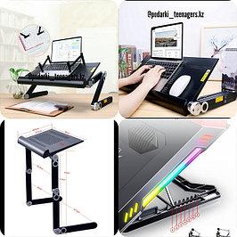 Столы-трансформер, подставки для ноутбука с кулером