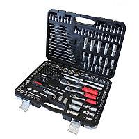 Набор инструментов 216пр 1/2''3/8 1/4''(6 гр)(4-32мм) EVERFORCE EF-1050 216 предметов