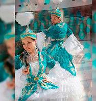 Женская казахская одежда пошив камзолов