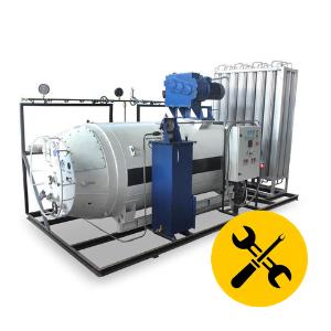Установка и монтаж криогенного оборудования